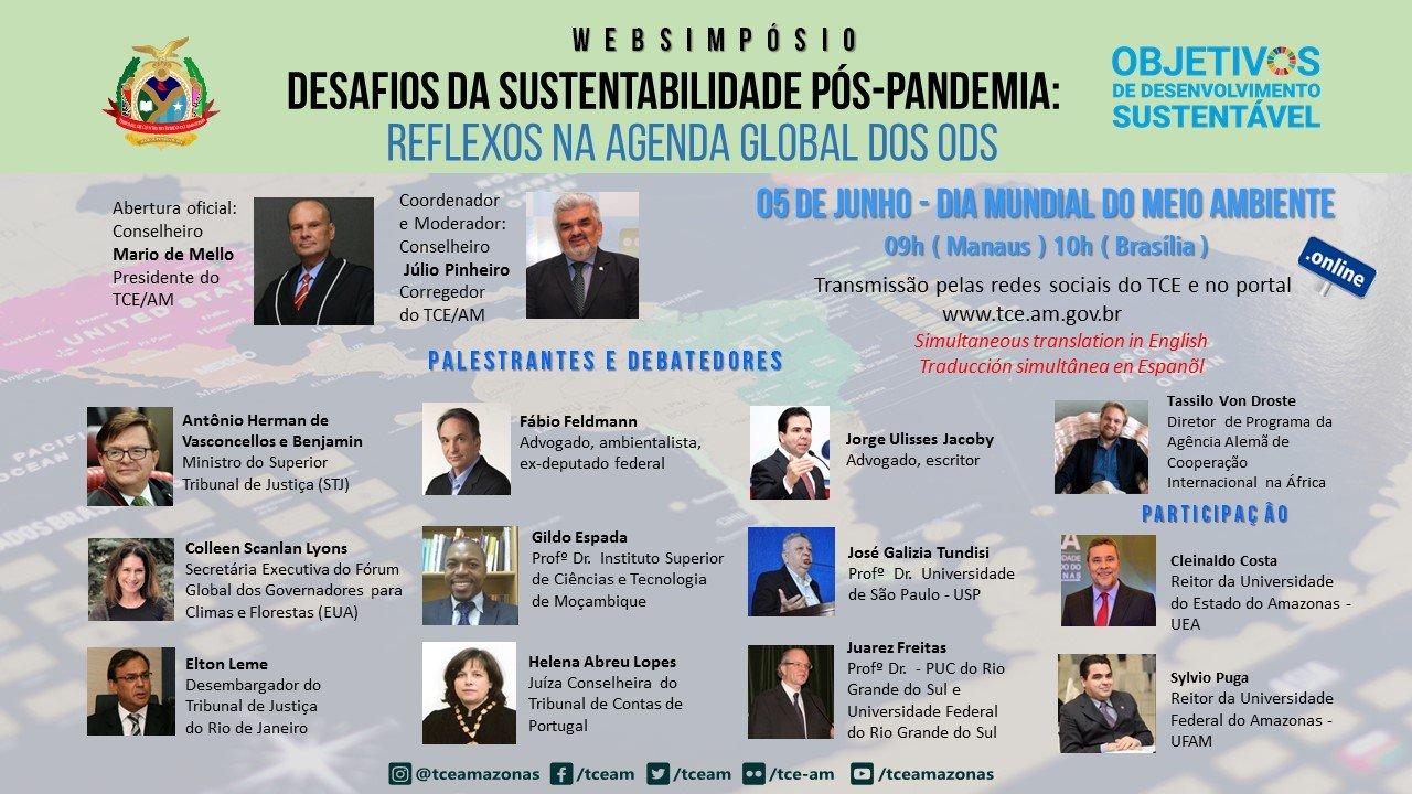 WEBSIMPÓSIO - DESAFIOS DA SUSTENTABILIDADE PÓS-PANDEMIA